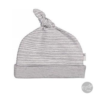 Bess Mutsje Pinstripe Grey