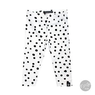 Your Wishes Legging Dots Black & White