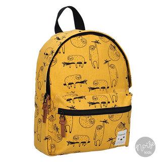 Kidzroom Rugzakje Academy Sloth Yellow