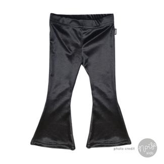 KMDB Flared Pants Velours Black