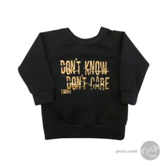 KMDB Sweater Don't Know Gold