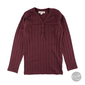 Small Rags Shirt Burgundy