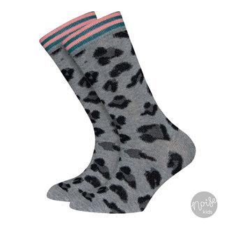 Ewers Sokken Leopard Grey