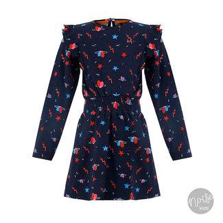Little Miss Juliette Dress Flash Blue