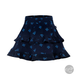 Little Miss Juliette Skirt Diamonds Blue