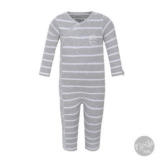 Beebielove Babypakje Stripe Grey White