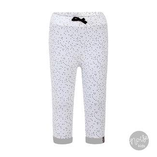 Beebielove Broekje Dots White Grey