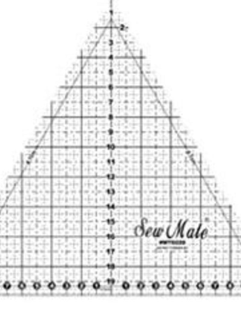 Sew Mate 60 Grad Gleichseitiges Dreieck 20 cm