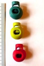 Union Knopf Kordelstopper rund in drei Farben