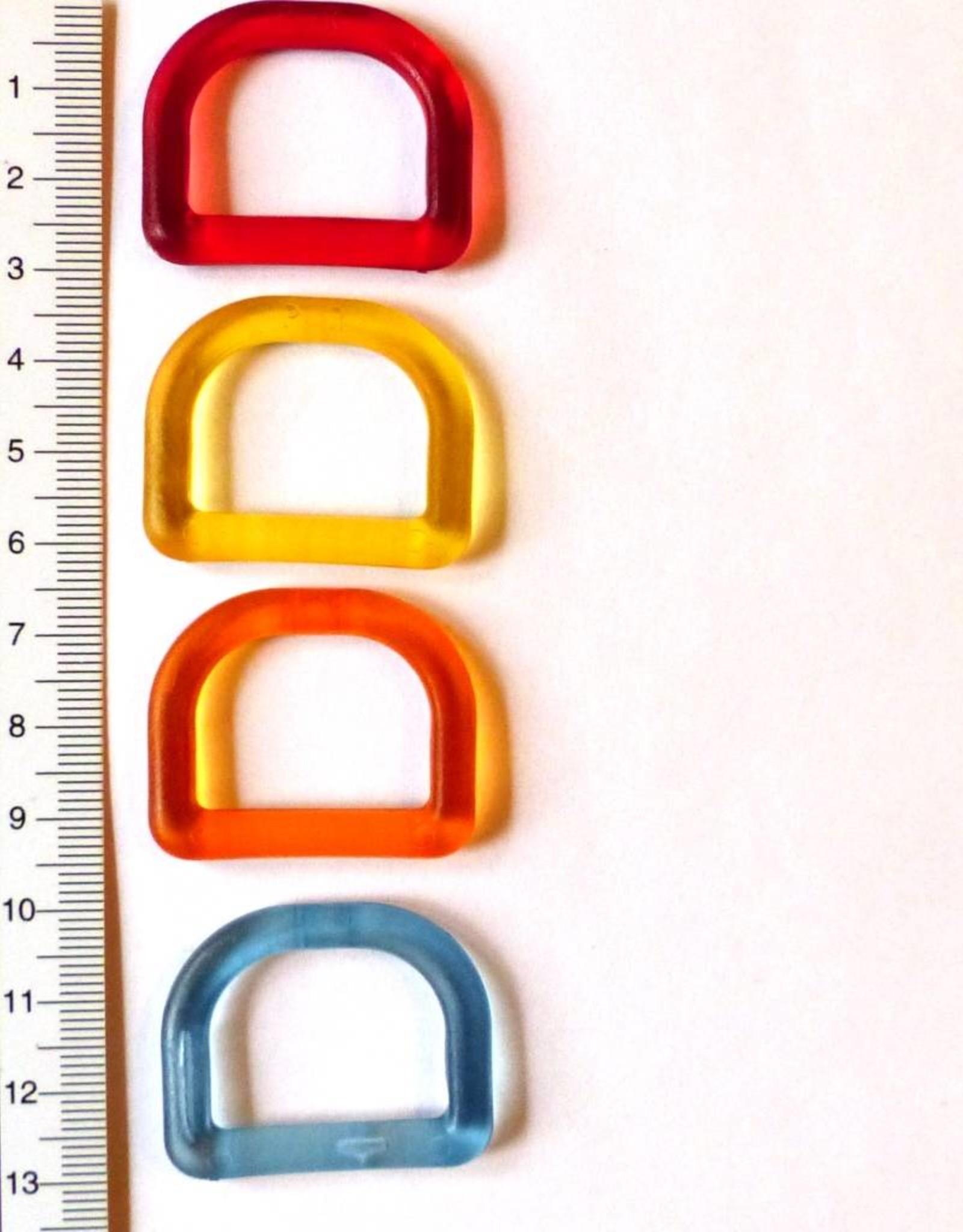 Union Knopf Kunststoff-D-Ring