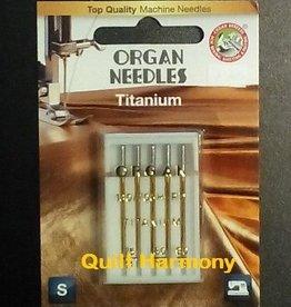 Organ Maschinennadeln Sortiment Titanium