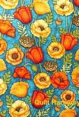 Diverse 10 cm Mohnblüten von Dan Morris