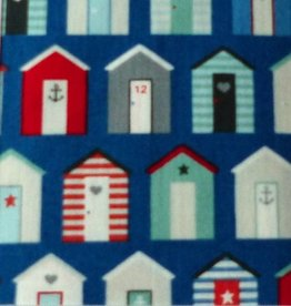 10 cm  Nautical Beach Huts
