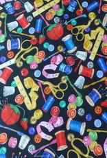 Robert Kaufman 10 cm Sewing Buddies by Linea Washburn