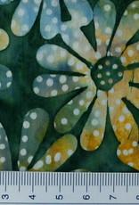 Diverse 10 cm  Batik Blüten