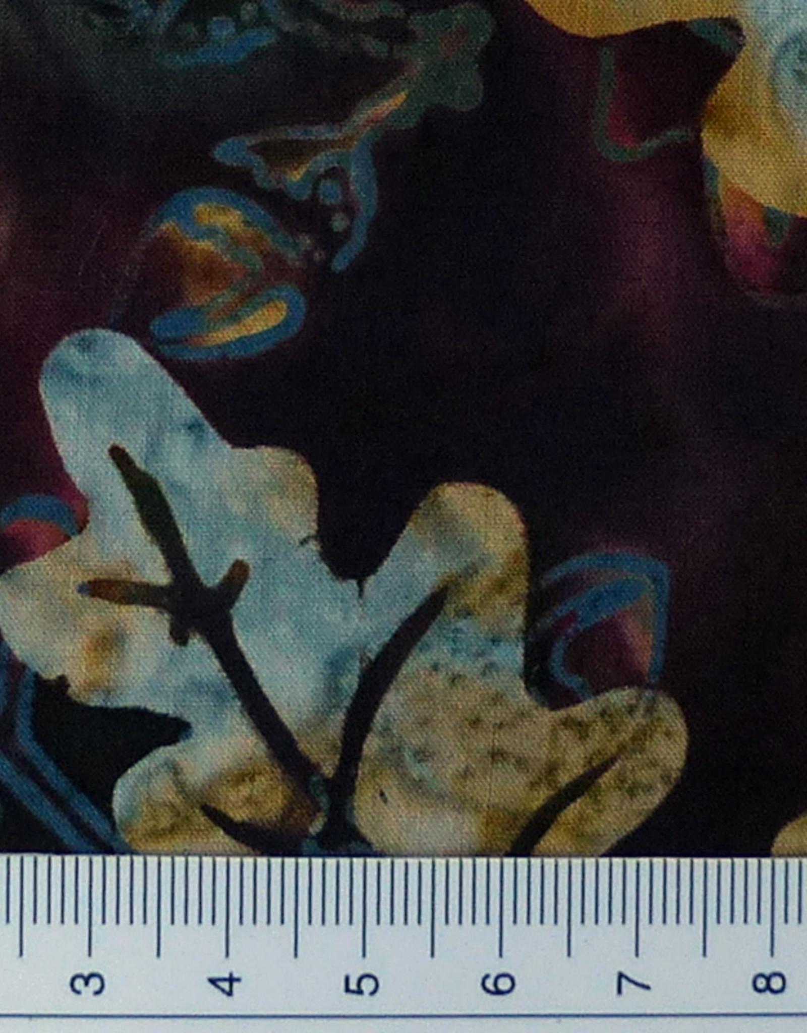 Diverse 10 cm  Batik Batik Eichenlaub