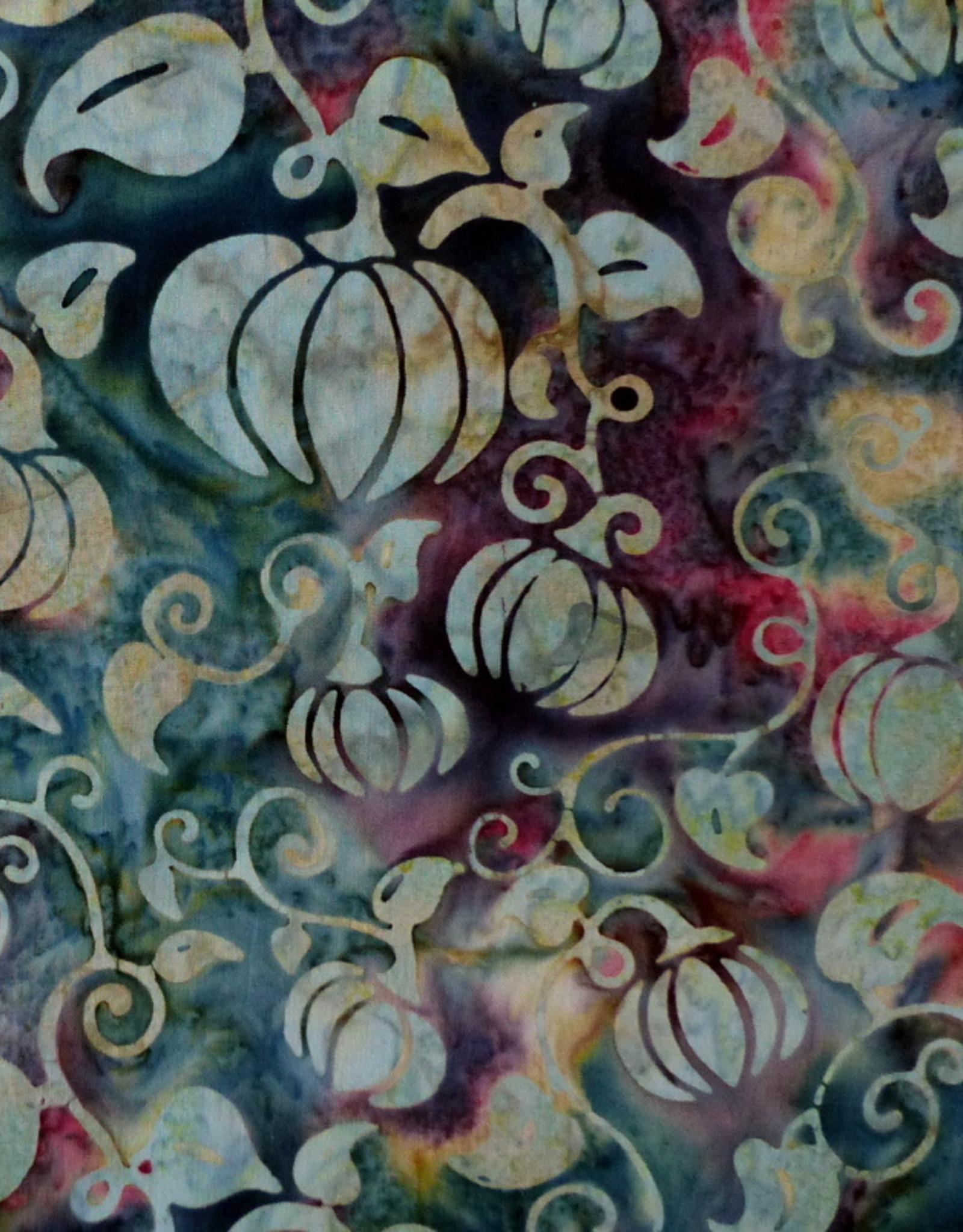 Diverse 10 cm Batik Kürbisse