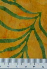 Diverse 10 cm Batik gelb grün