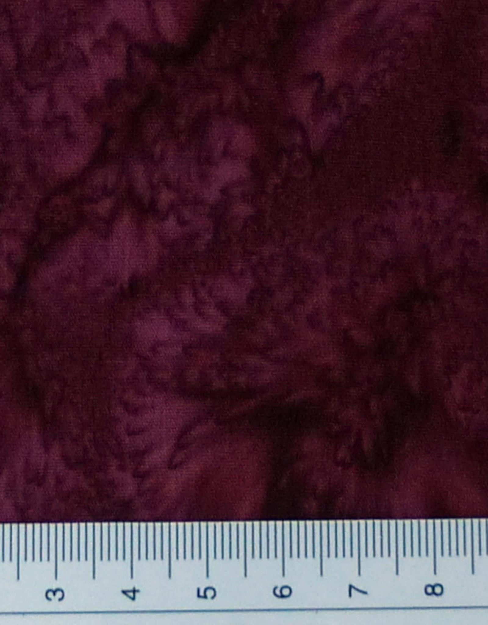 Diverse 10 cm Batik bordeau