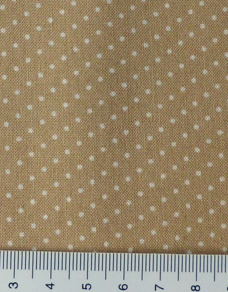 Westfalenstoffe AG 10 cm Tupfen  Lyon beige 10506227