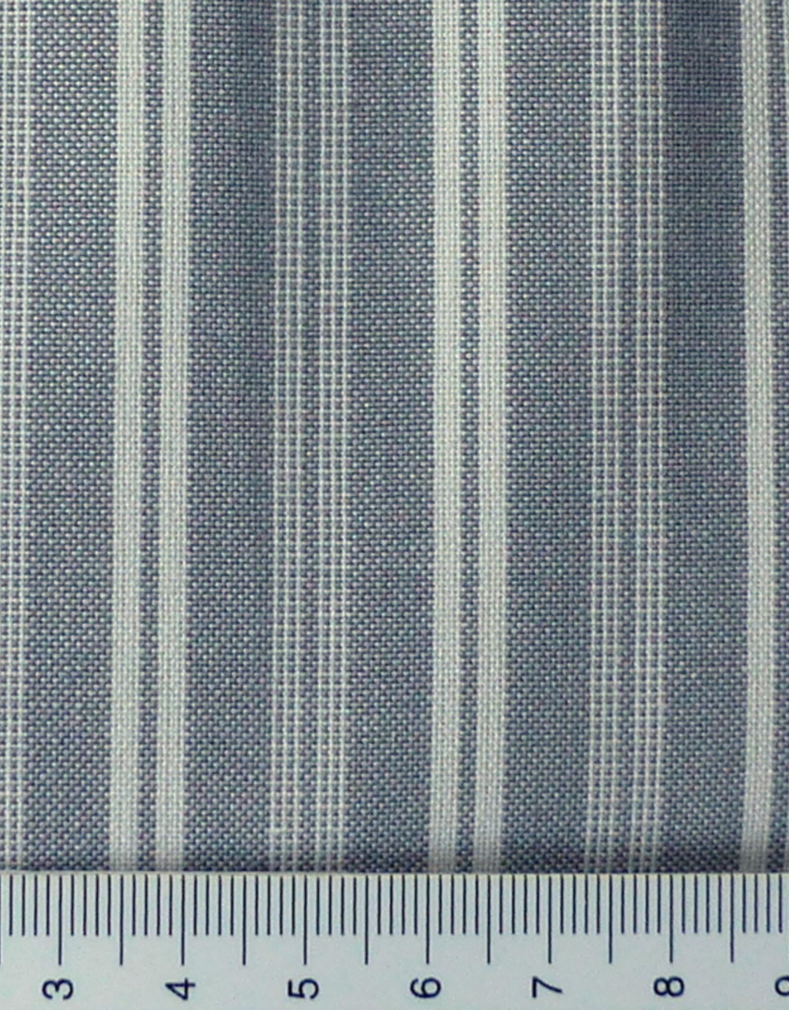Westfalenstoffe AG 10 cm Webstreifen grau weiß