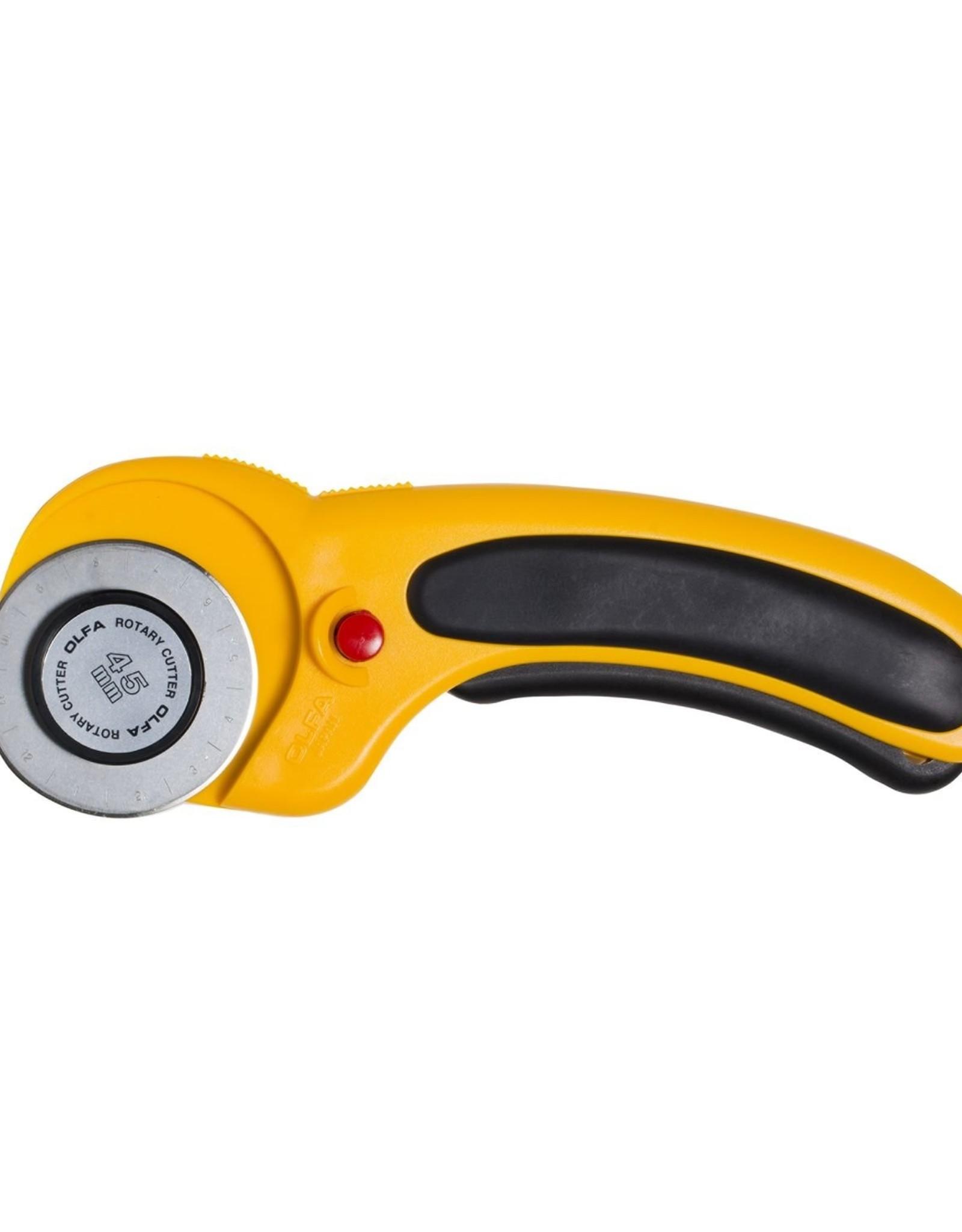 Olfa Sicherheitsrollschneider 45 mm