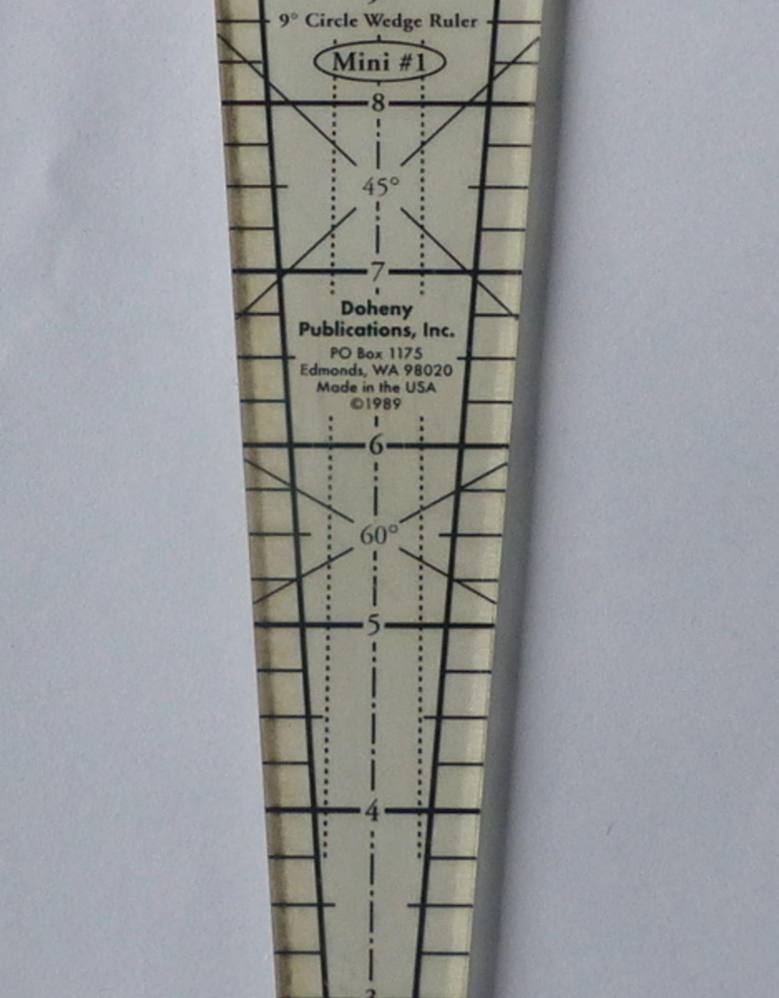 Marilyn Doheny 9 Grad Wedge Ruler
