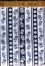 Makower UK 10 cm Funky Stripe