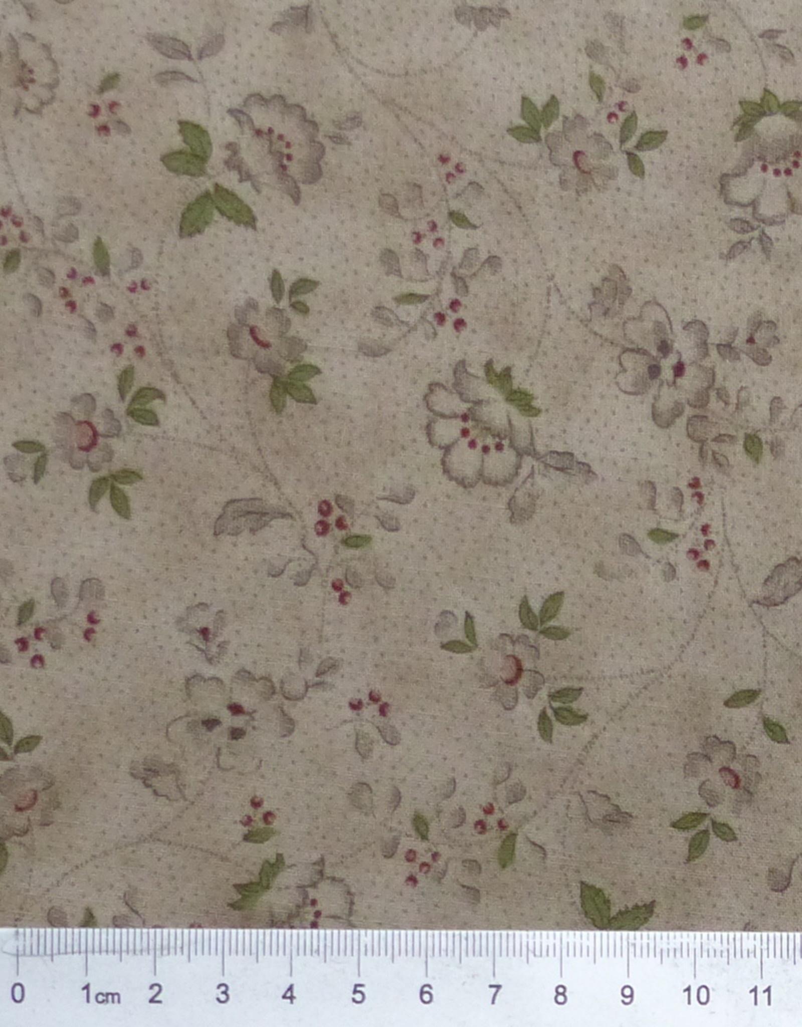 Lecien 10 cm In Antique Mrs. March´s Collection Blüten dunkel