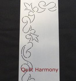 Quiltschablone Ranke