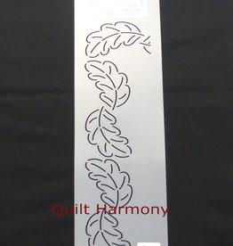 Quiltschablone Blätter