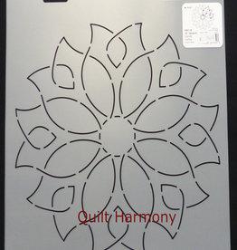 Quiltschablone Dandy Dahlia