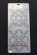 Quiltschablone Celtic Blocks