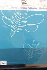 Quiltschablone Full Line Stencil Bienen