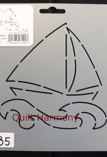Quiltschablone Dream Boat