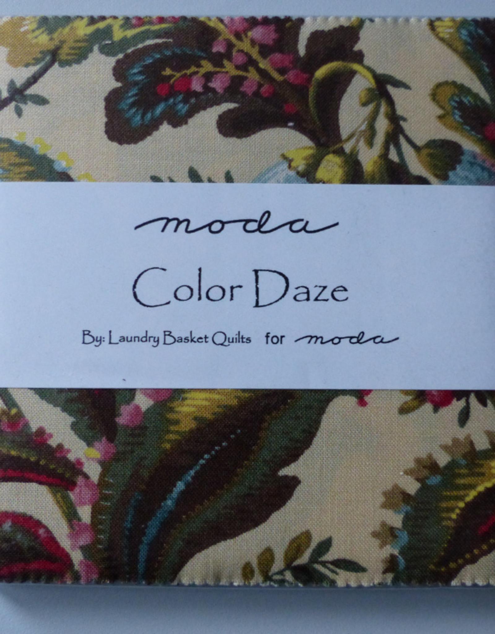 moda Charm Pack  Color Daze