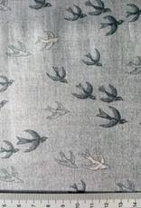 Makower UK 10 cm Heartwood Swallows