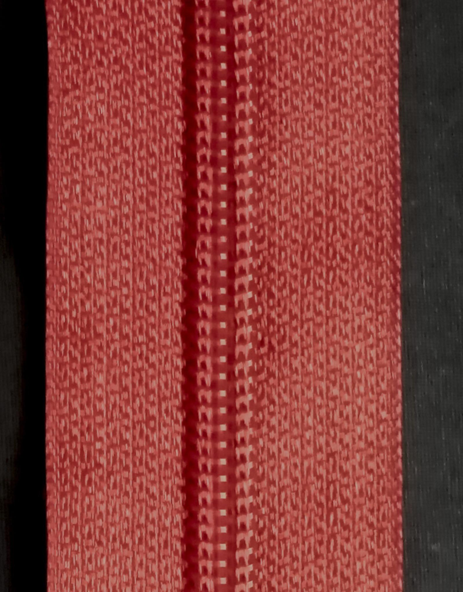 Union Knopf Endlosreißverschluss 5 mm weinrot