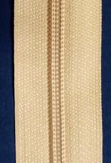 Union Knopf Endlosreißverschluss 5 mm dunkelbeige