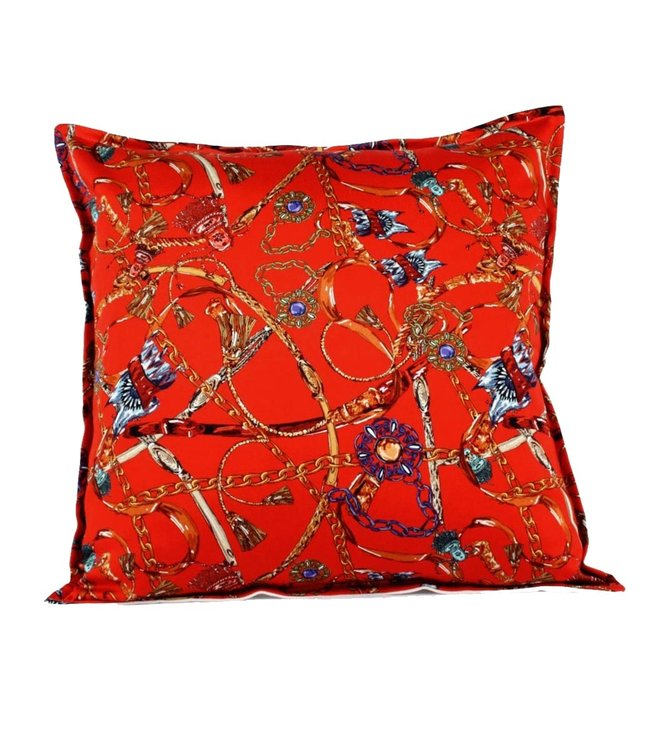 Throw Pillow 45x45 cm - Baxter - Red