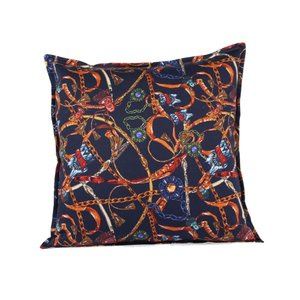 Throw Pillow 45x45 cm - Baxter- Blue