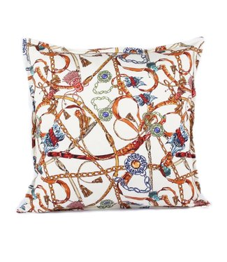 Throw Pillow 45x45 cm - Baxter - ecru