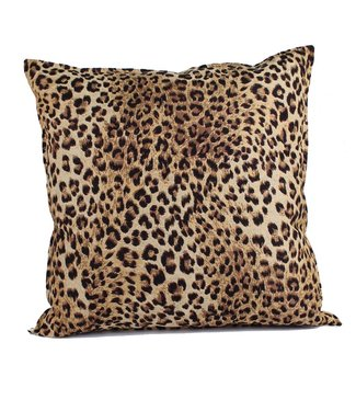 Throw Pillow 60x60 cm - jacquard - Leopard