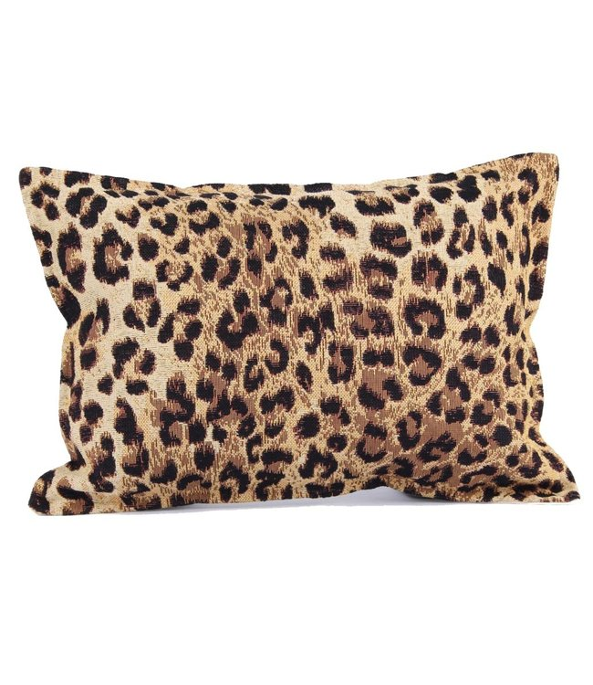 Throw Pillow 25x35 cm - XS - jacquard - Leopard