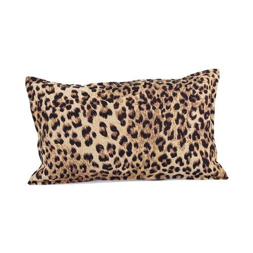 Throw Pillow 35x50 cm  - jacquard - Leopard