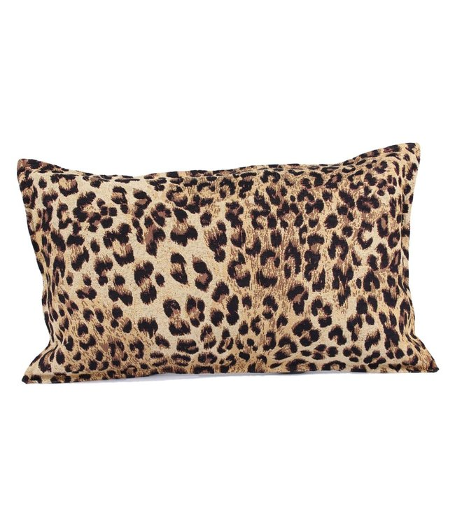Throw Pillow 35x50 cm  - jacquard - Leopard