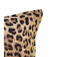 Sierkussen 35x50 cm  - jacquard - Luipaard