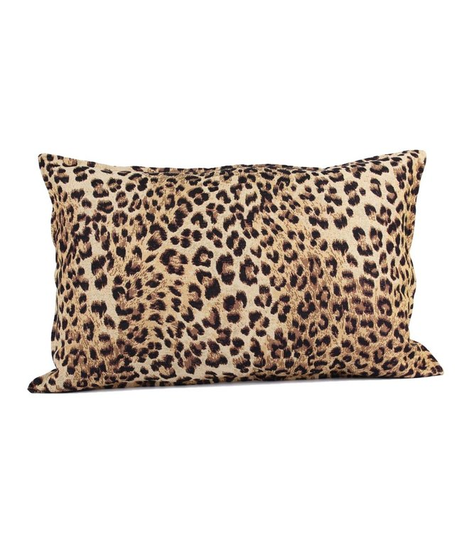 Throw Pillow 40x60cm  - jacquard - Leopard