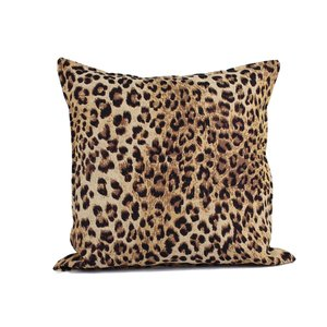 Throw Pillow 45x45 cm  - jacquard - Leopard
