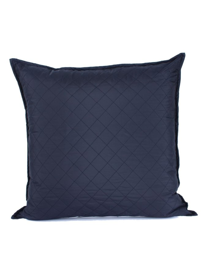 Sierkussen 60x60 cm  - Galloway Blue Diamond - Blauw